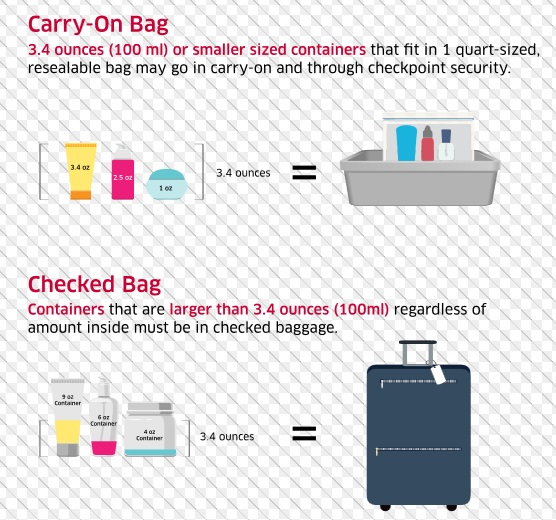 TSA Liquid Requirements