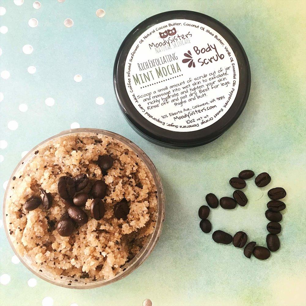 Moody Sisters Coffee Body Scrub