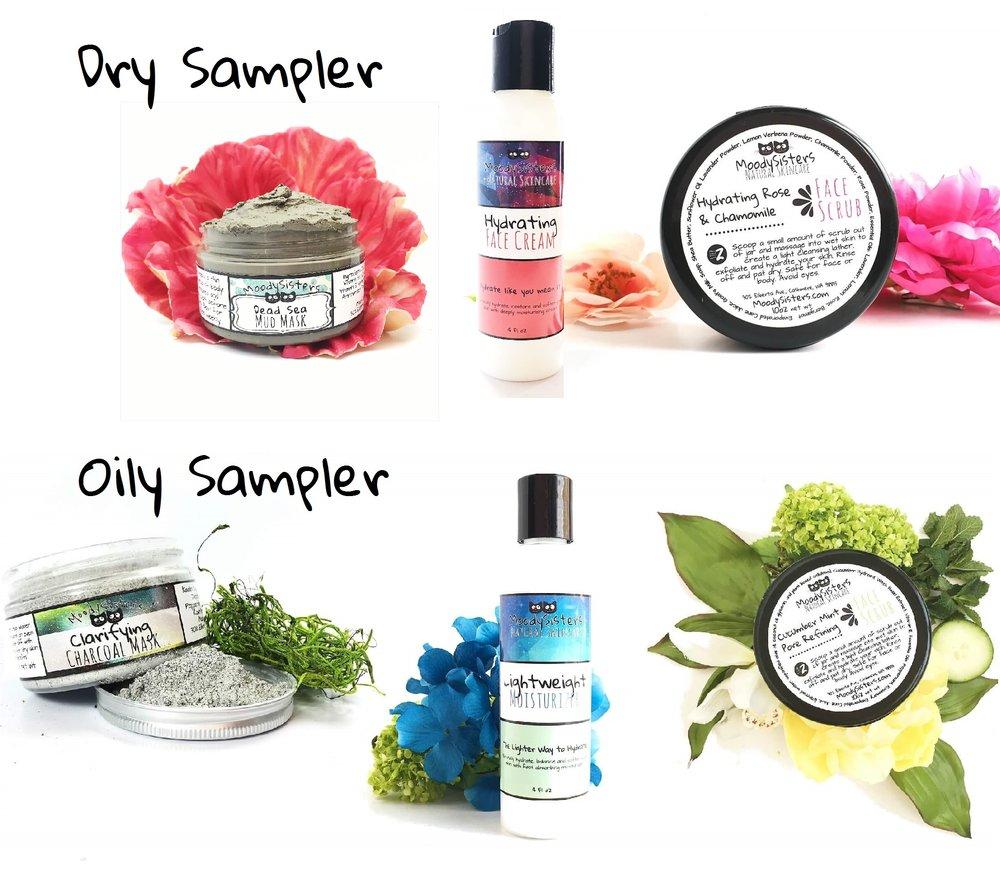 Moody Sisters Skincare Sampler Packs
