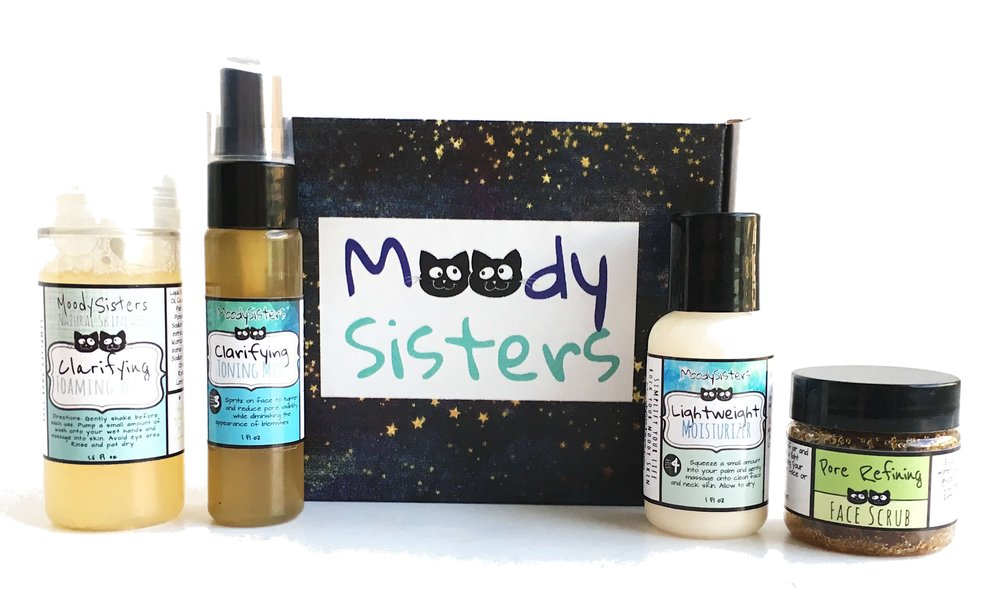 Moody Sisters Try Me Skincare