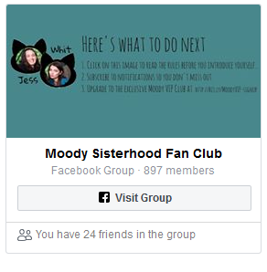 Moody Sisters Fan Club