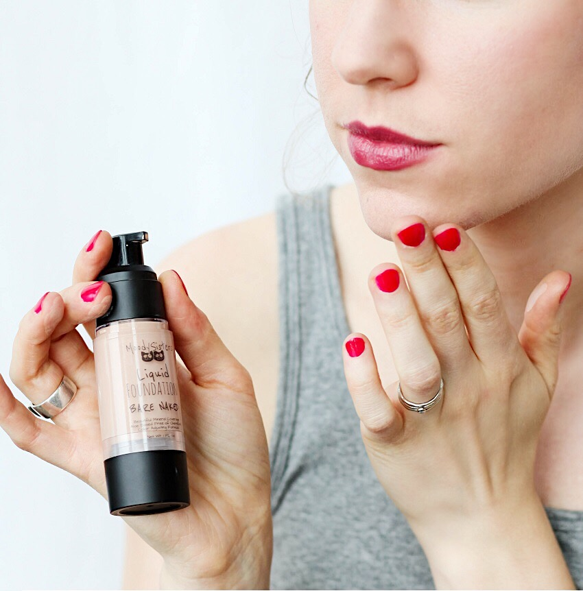 Moody Sisters dry skin makeup tips