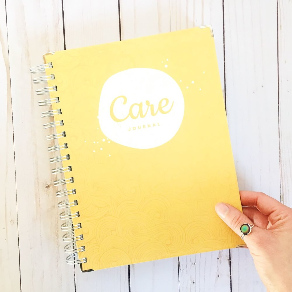 mood care journal gift guide