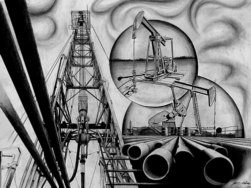 oil & gas drawings — steve uriegas