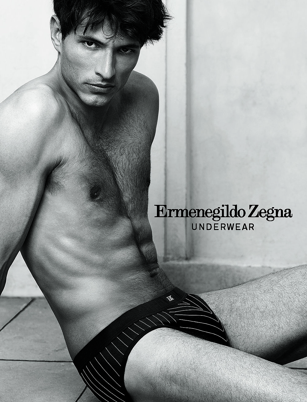 Zegna Underwear Packaging, Campaign and Catalogues