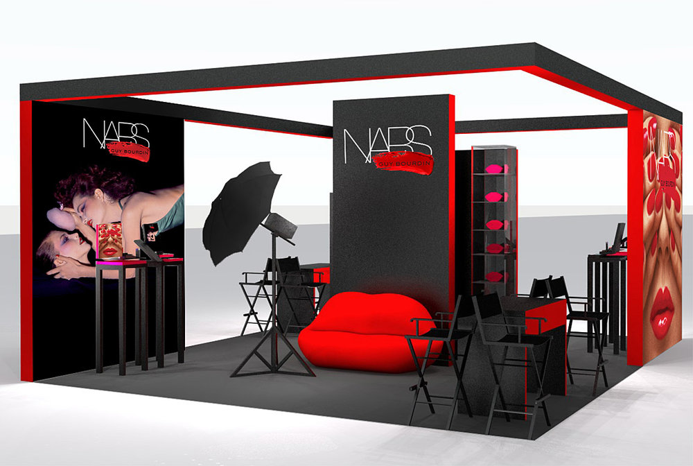 NARS Store / Event Design and Displays