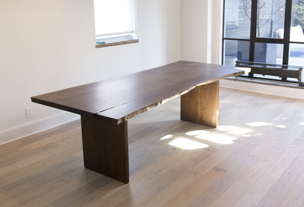 Livingston Live Edge Dining Table