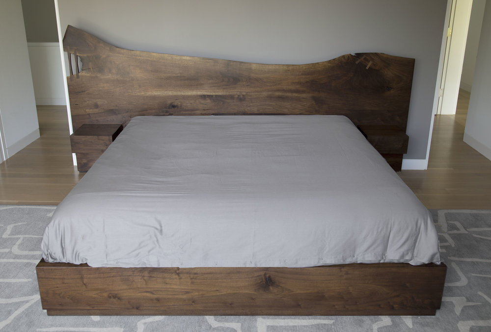 Kingston Live Edge Bed