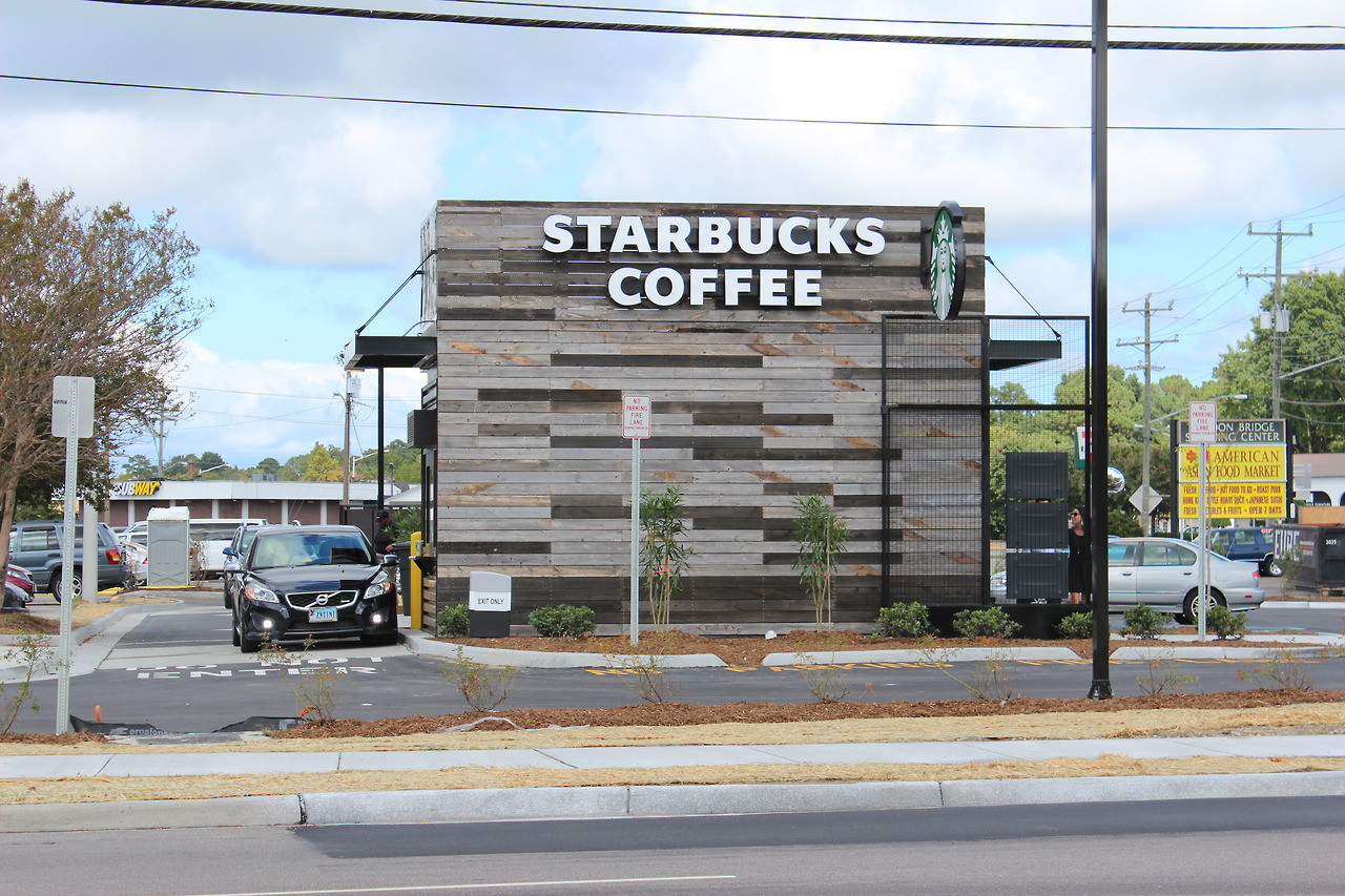 Don't know how it is for the rest of world but we just got a new Starbucks in Virginia Beach, VA! Word.