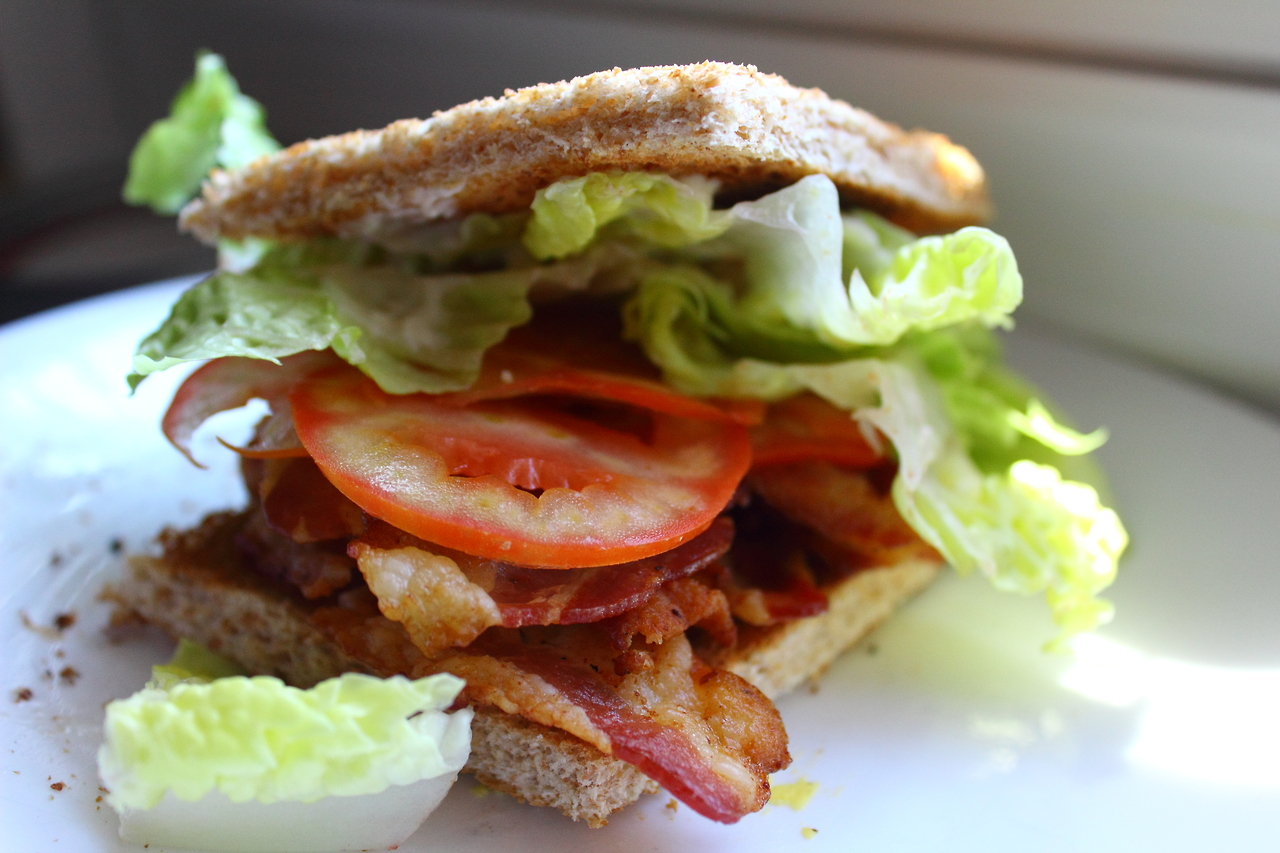 BLT for brunch today :) i<3food