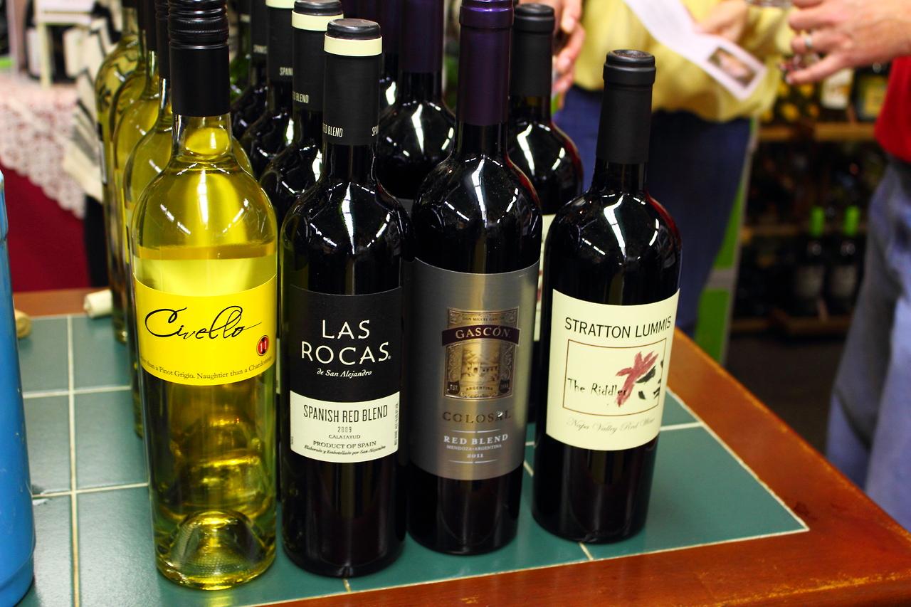 Wine tasting Fridays at @ Grape and Gourmet, Virginia Beach, VA.