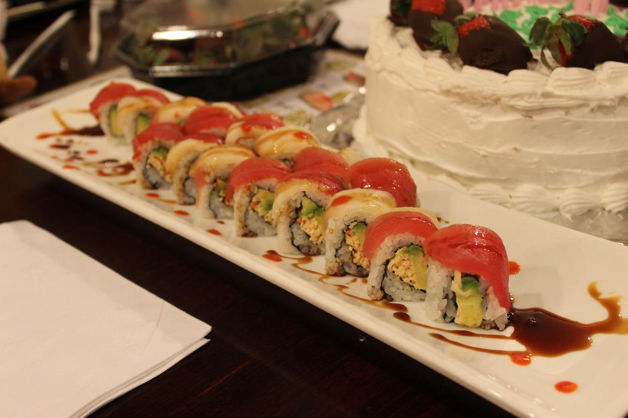 Sushi at  Misako !