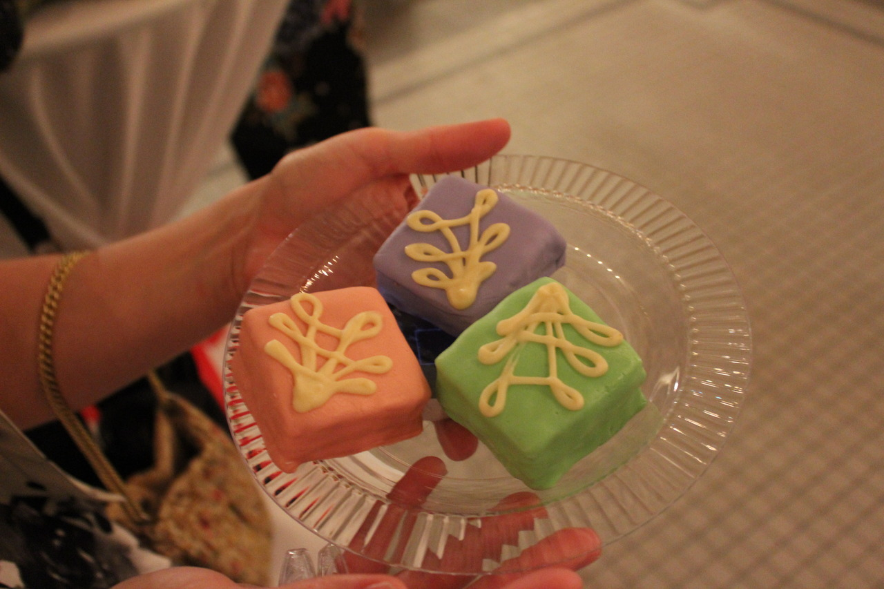 Fancy cakes at the Monticello Arcade Shindig this past weekend.