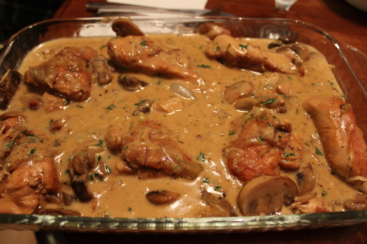Chicken Fricassee I made this past Sunday. The weather is perfect for this kind of food. Actually, anytime is a good time for this!