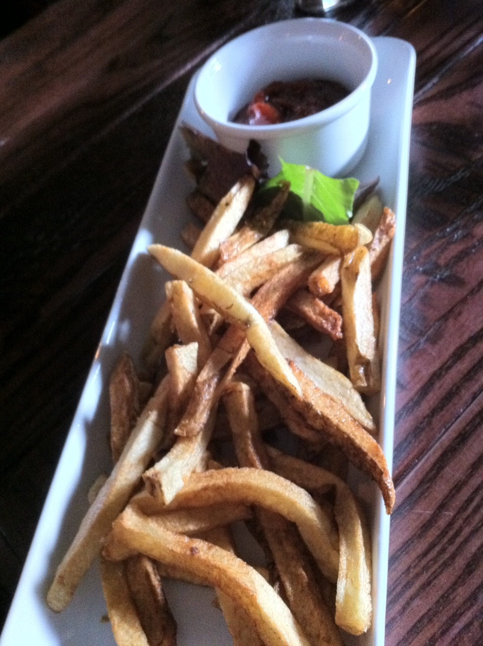 Duck Fat Fries @ The Public House, Norfolk, VA. These were good with the smokey ketchup (chipotle.) http://www.publichouseeats.com/