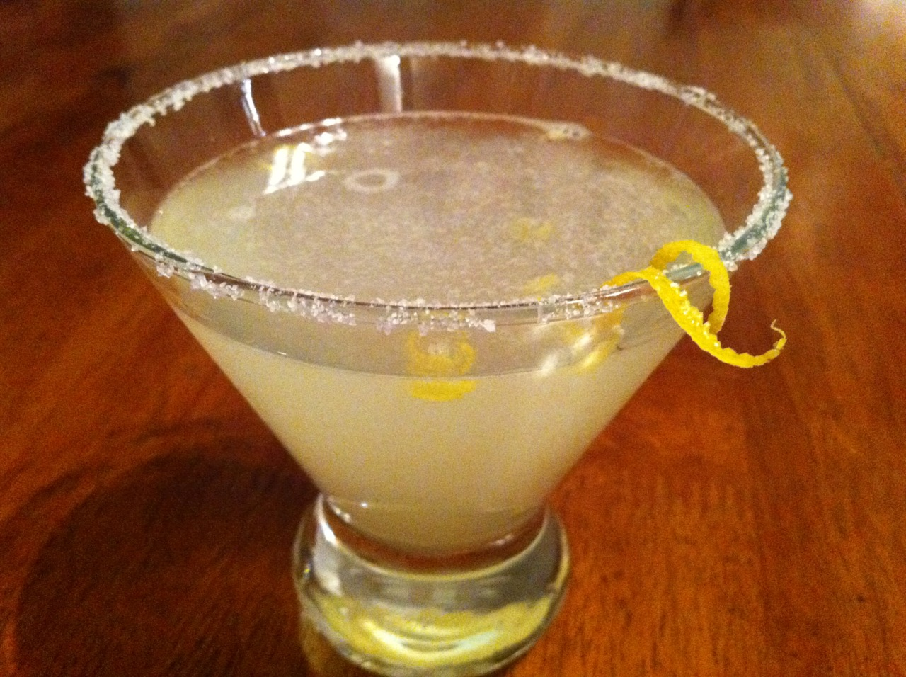 Lemon Drop my wife made this weekend. It was perfect.