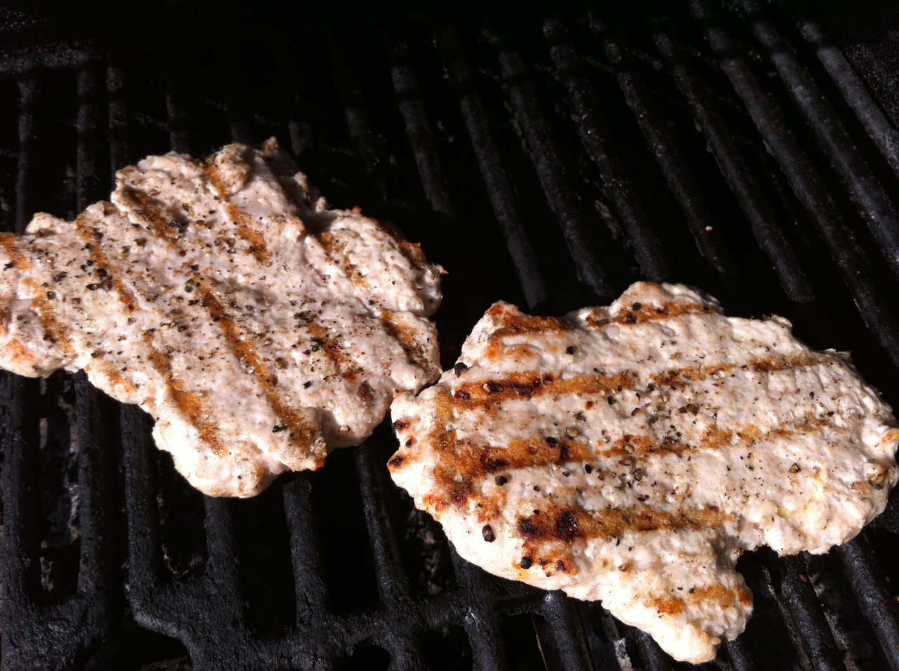 Grilled turkey patties inspired by Chicken Adana.