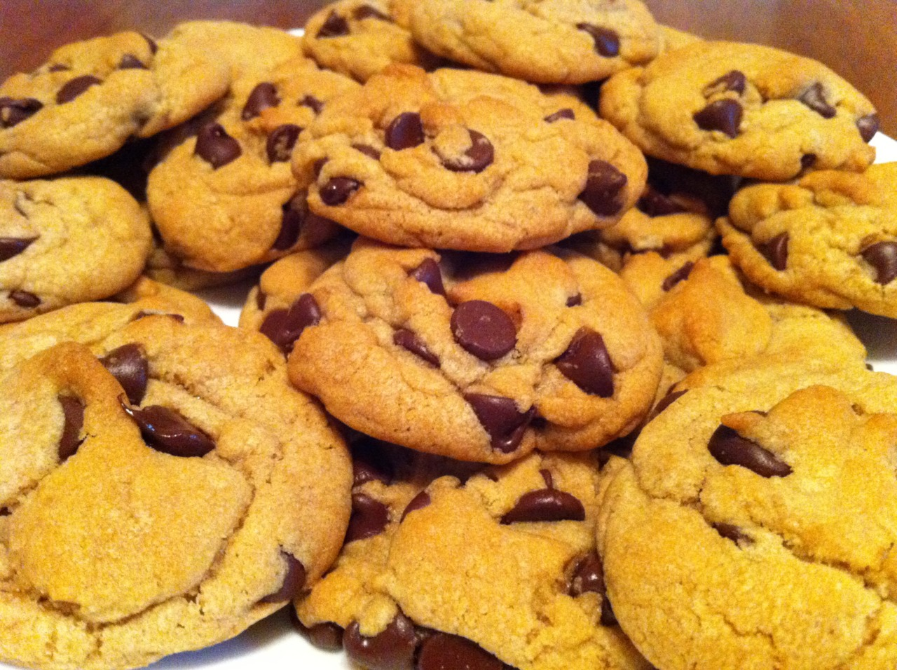 Chocolate Chip Cookies! It's National Chocolate Chip Day!