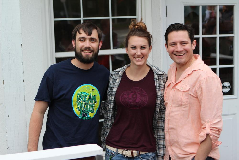 Dan, Amanda and R.W.