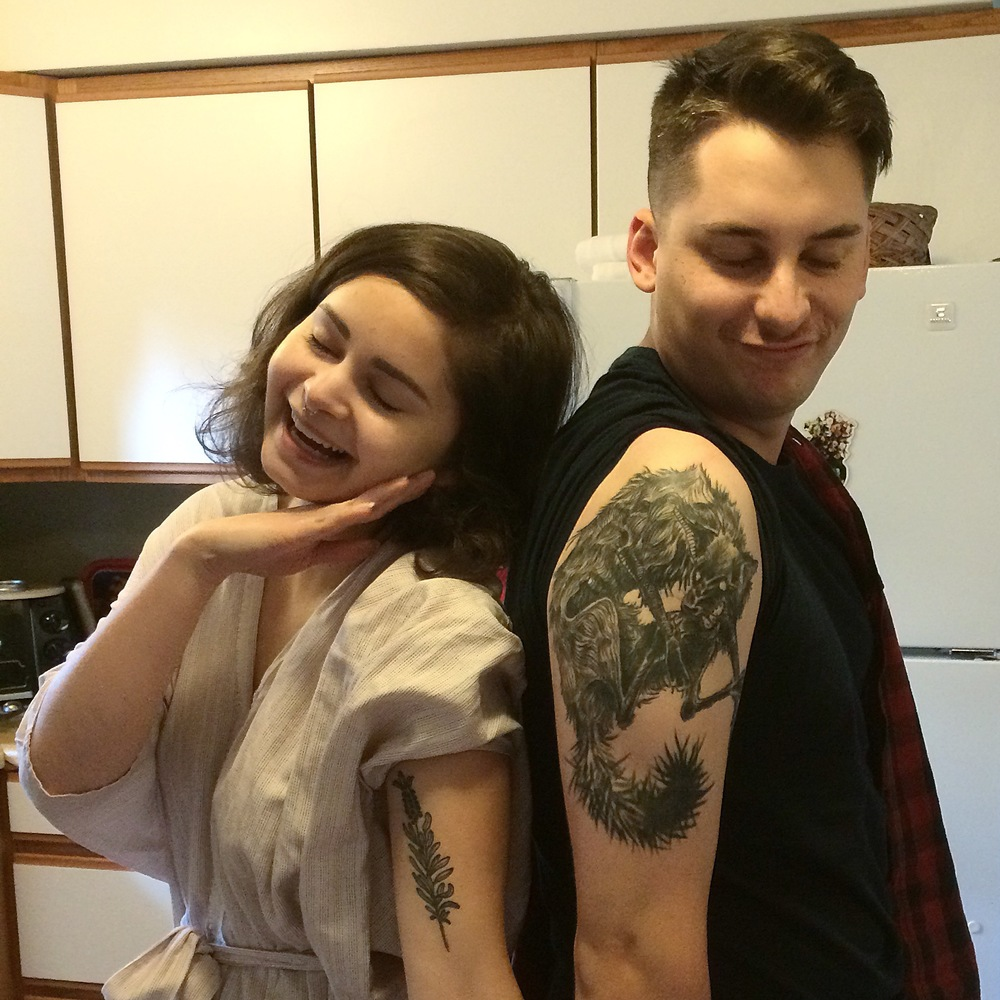 We told the kids not to get tattoos. As you can see, they didn't listen.