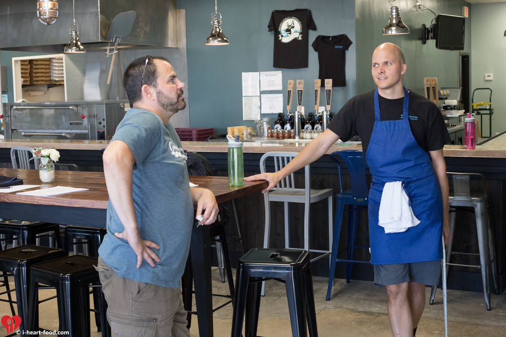 Kevin Erskine of  Coelacanth Brewing  chats with Craig Lubinski and checks out the new Virginia Beach Brewery.
