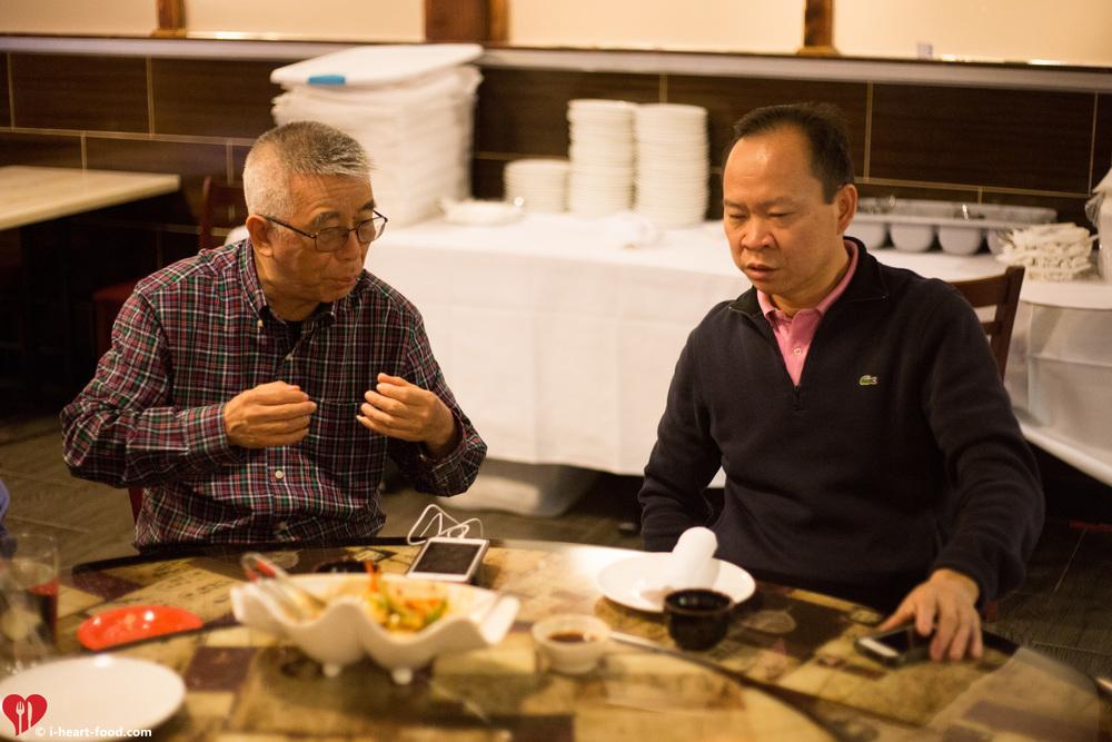 Gen Lee and Peter Chang