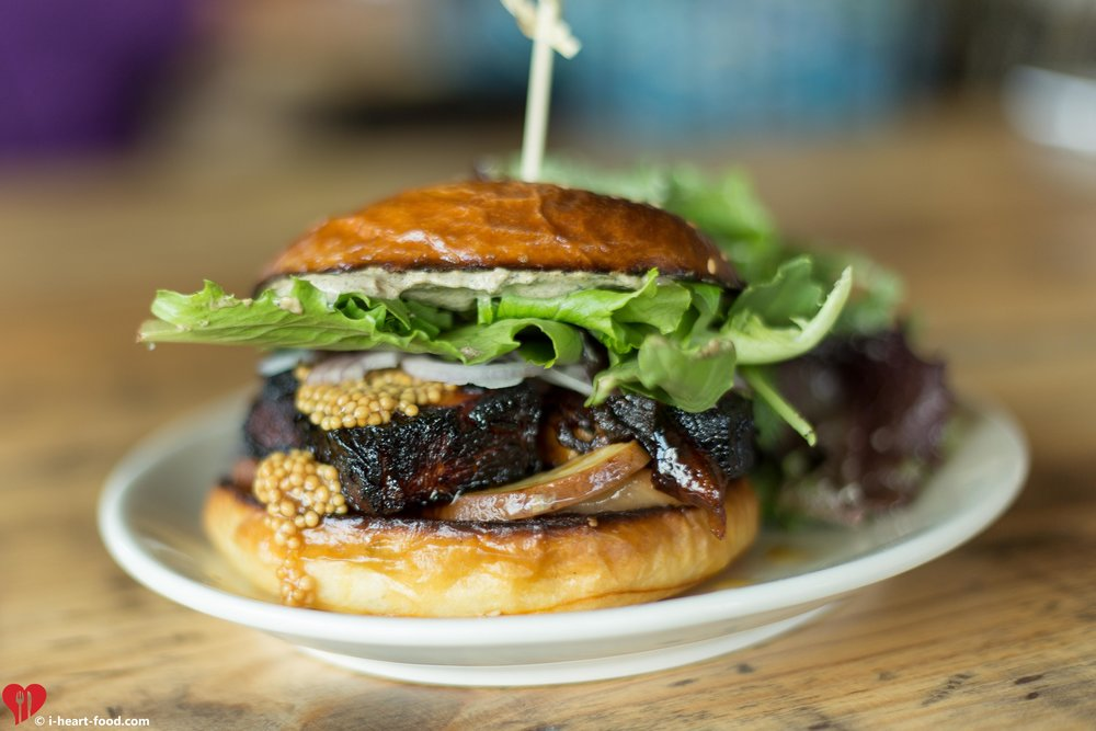 Burnt Honey Glazed Pork Belly Sandwich