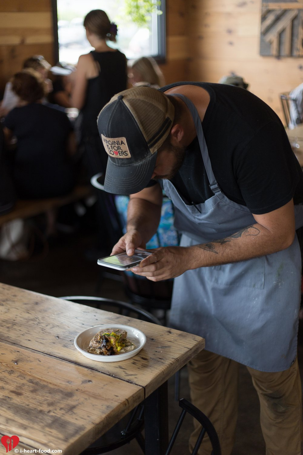 Chef Barry Smith of Commune