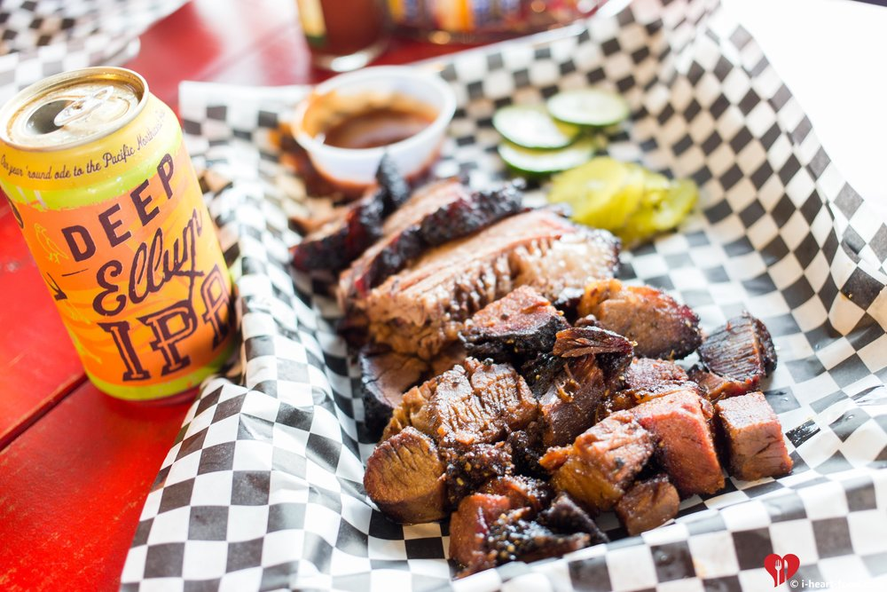 Post Oak Smokehouse Beef Brisket and Burnt Ends