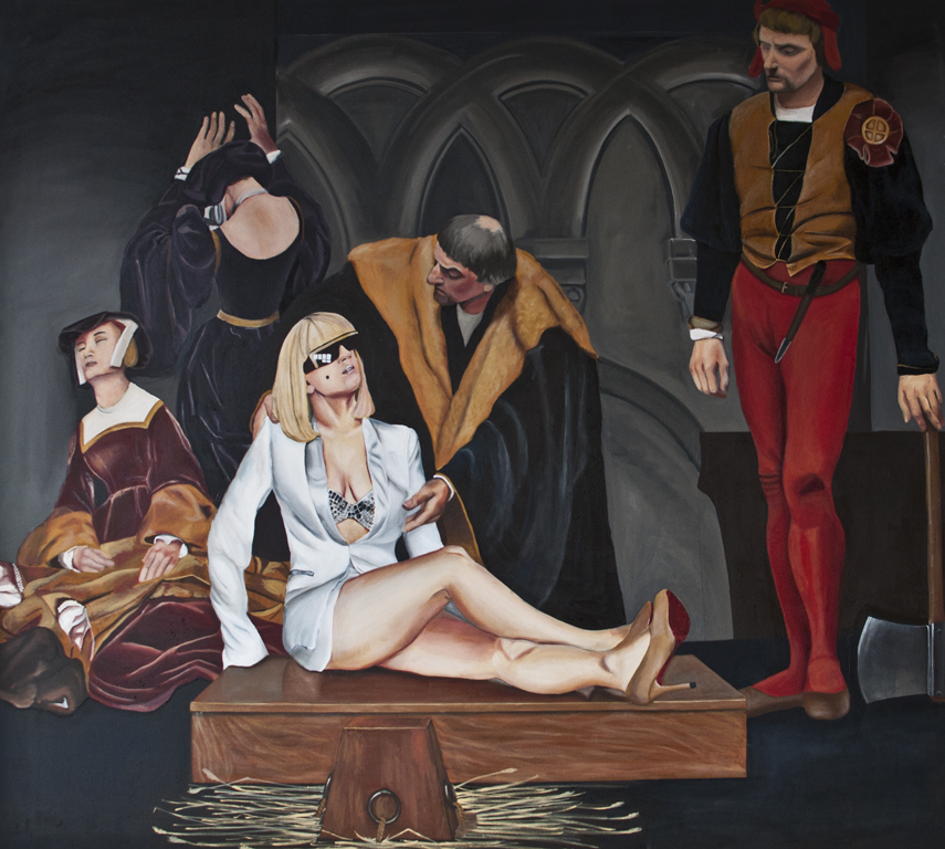 Execution of Lady Gaga as Lady Jane Grey