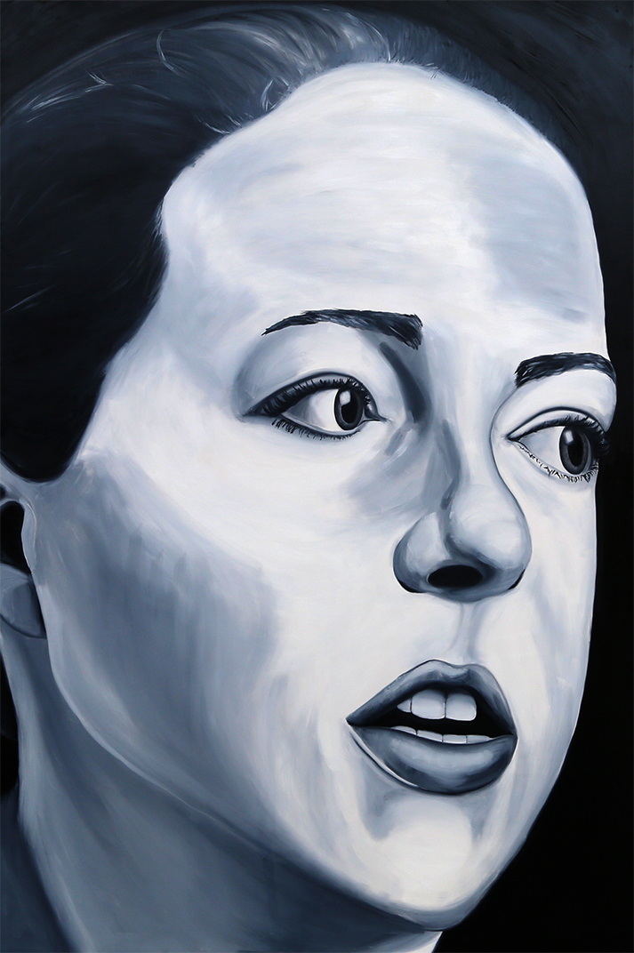 Jenny Saville (self portrait)
