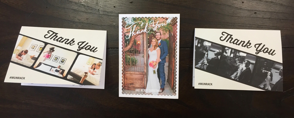 Scottsdale Wedding Thank You Cards