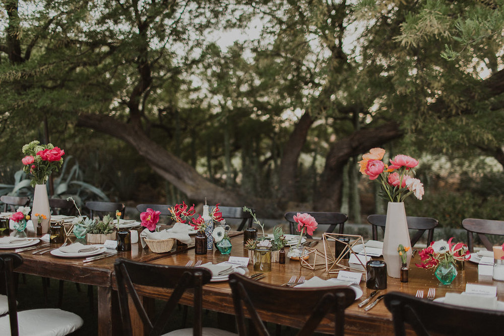 paradise valley backyard wedding