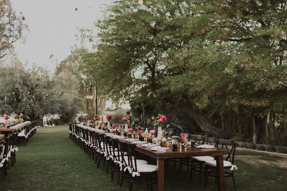 arizona farm to table wedding