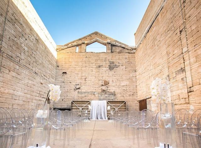 Modern Downtown Phoenix Wedding