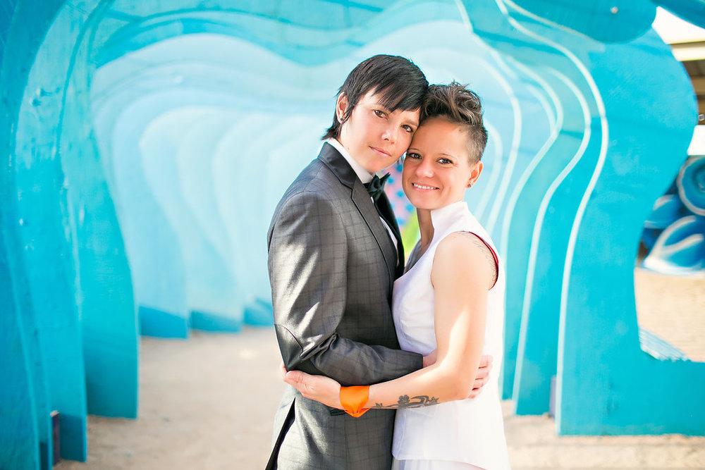 Downtown Phoenix Gallery Wedding