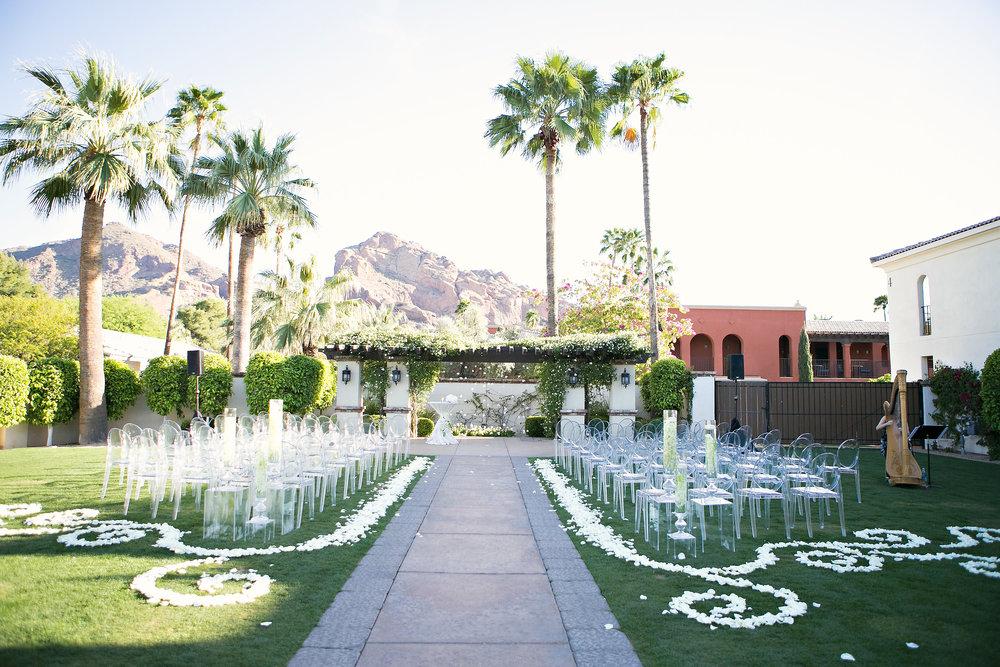 Contemporary Omni Montelucia Wedding