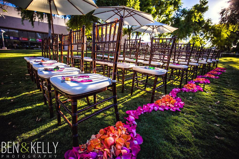 Colorful Saguaro Scottsdale Wedding