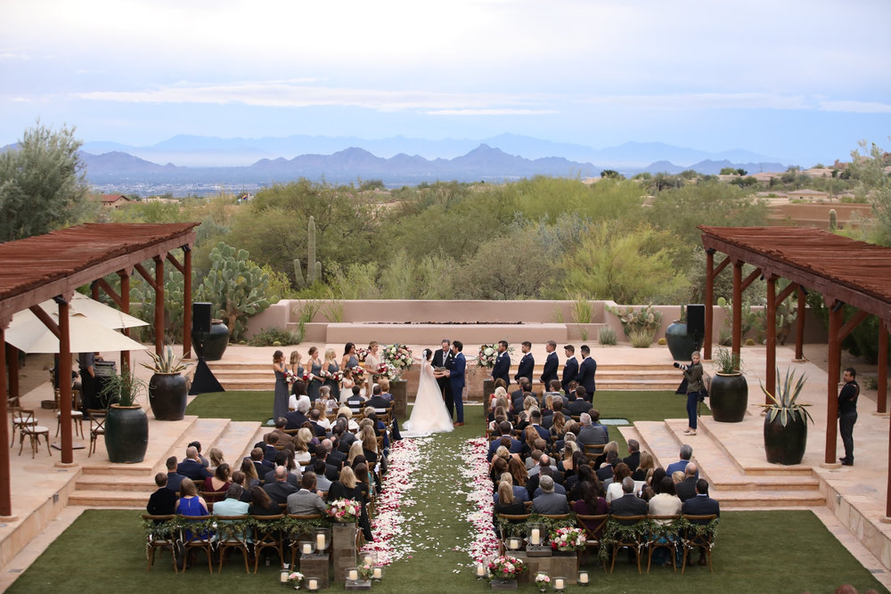 Arizona Wedding Planners Four Seasons