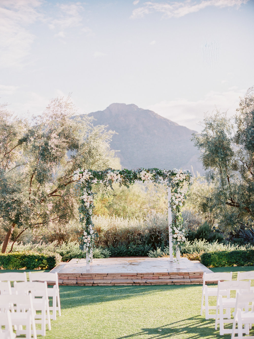 Arizona Wedding Planner El Chorro Arch