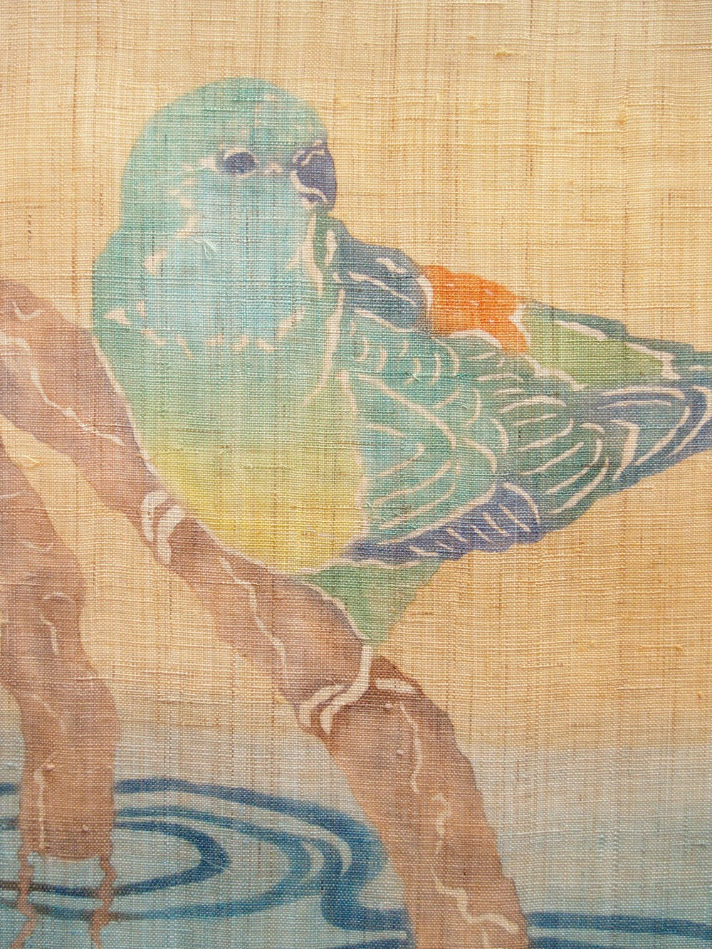 Red-rumped-parrot-linen2012detail.JPG