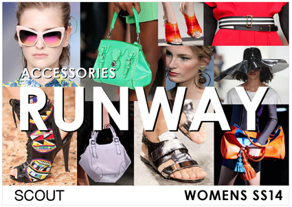 Womens Runway Analysis SS14 - Accessories