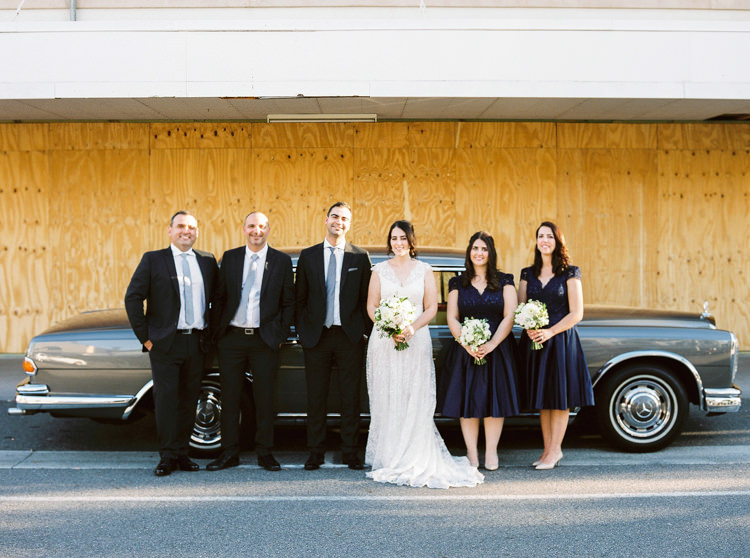Joanne Ziad Wedding bridal party with mercedes in woolloongabba brisbane photographer