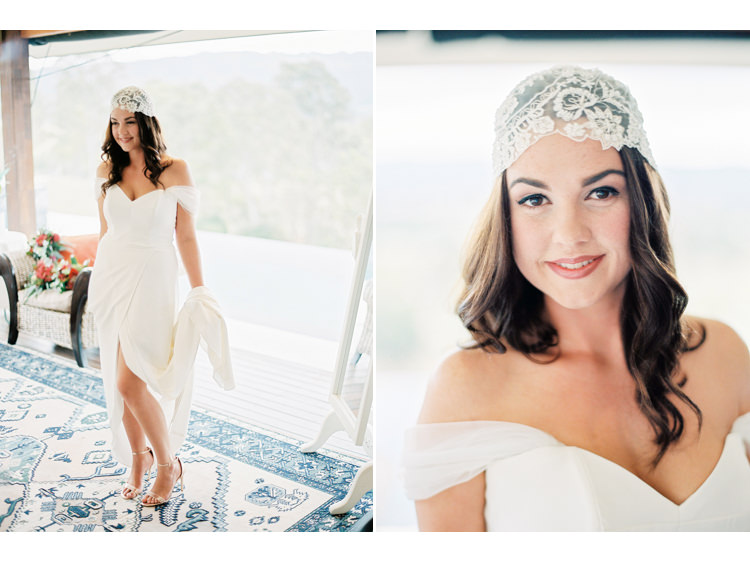bridal-portrait-bride-Couple-dress-film-photography-fine-art-wedding-photographer-gold-coast-groom-headpiece-beanie-jennifer-gifford-designs-kodak-oreillys-oreillys-valley-vineyard-portra-shoes-heals.jpg