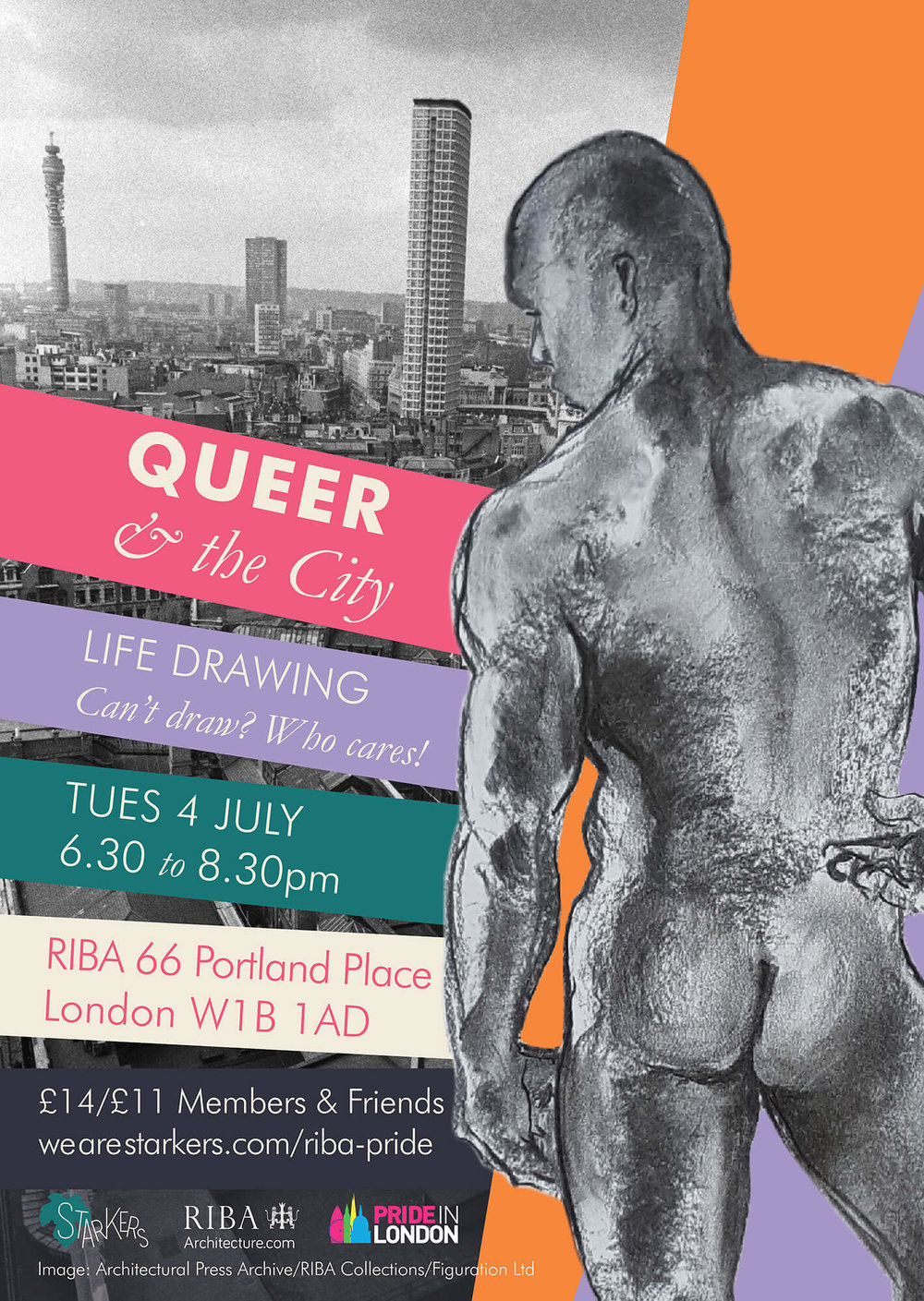 Queer and the City flyer