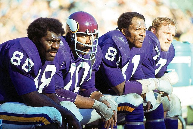 The Purple People Eaters:  men among boys