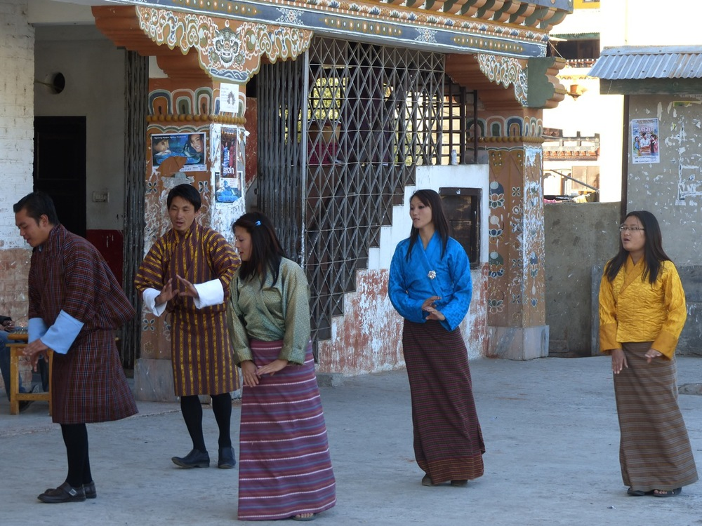 Tradition continues to reign in Bhutan...