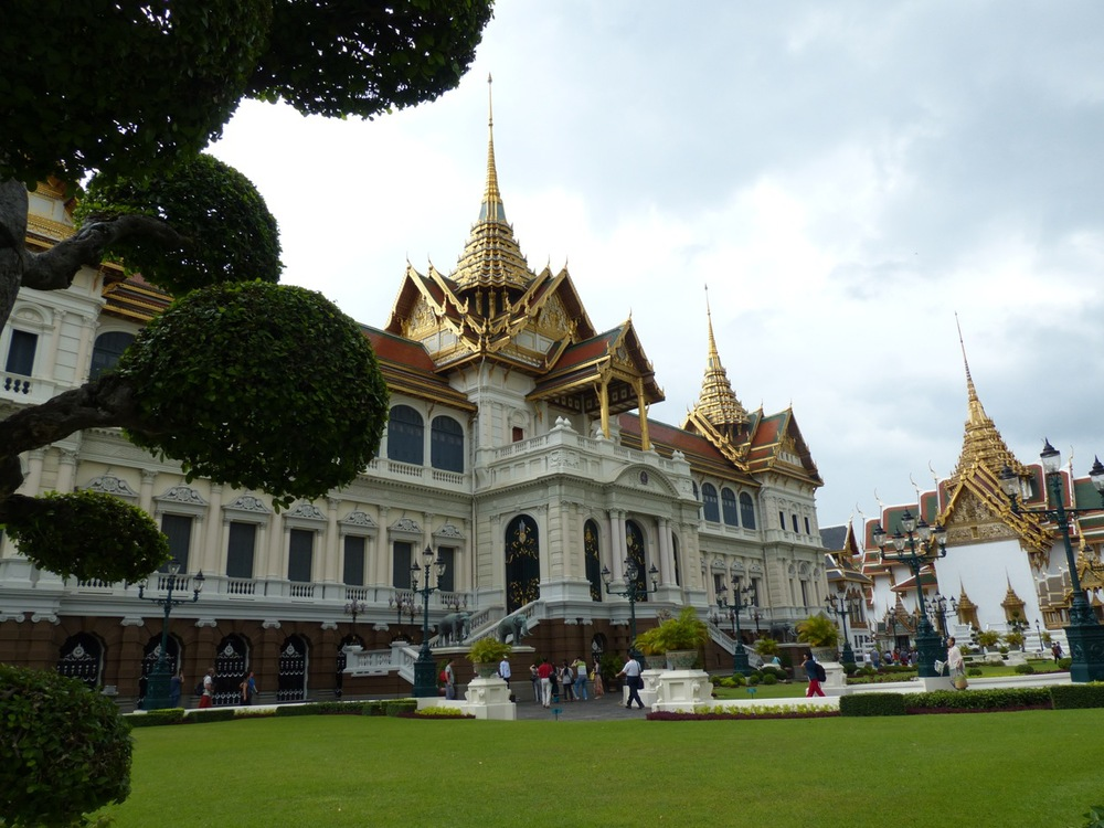 Chakri Maha Prasat Hall @ the Grand Palace (used for official functions) and awfully impressive