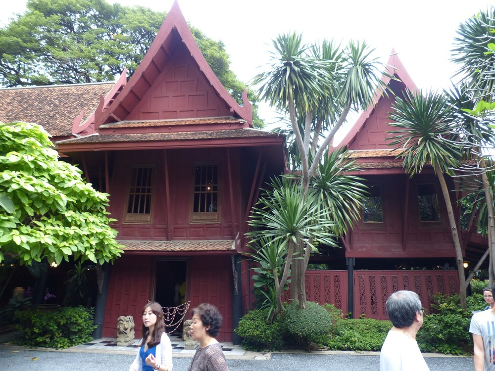 Jim Thompson House:  unfortunately they don't allow photography inside.  Just beautiful!