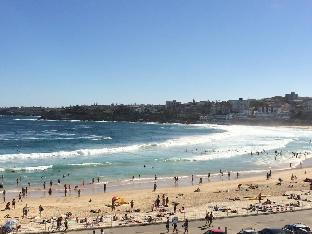 Bondi (my first surf lesson)